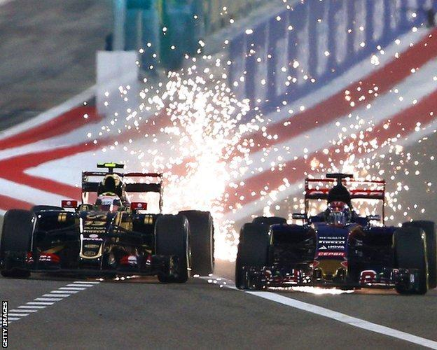 bahrain gp sparks