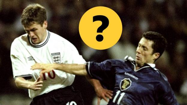 England v Scotland, Euro 2000 play-offs: 1999 'Battle of Britain' quiz thumbnail