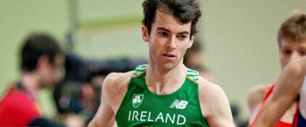 Paul Pollock set a personal best in Berlin but he trailed three other Irish runnerrs