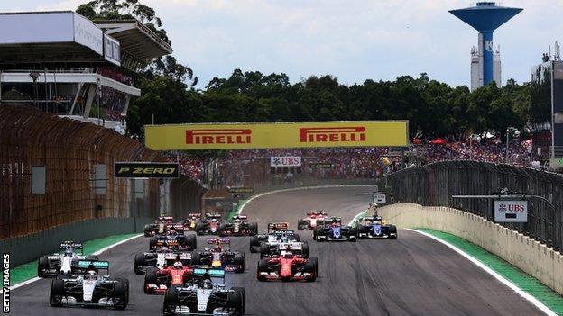 interlagos F1 circuit, sao paulo