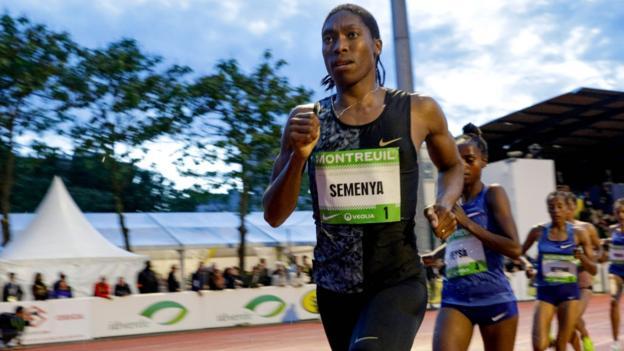 Caster Semenya wins 2,000m at the Meeting de Montreui thumbnail