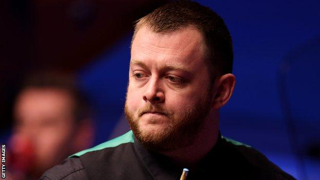 Mark Allen is a former Masters champion