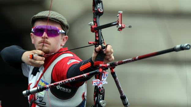 Northern Irish archer Patrick Huston