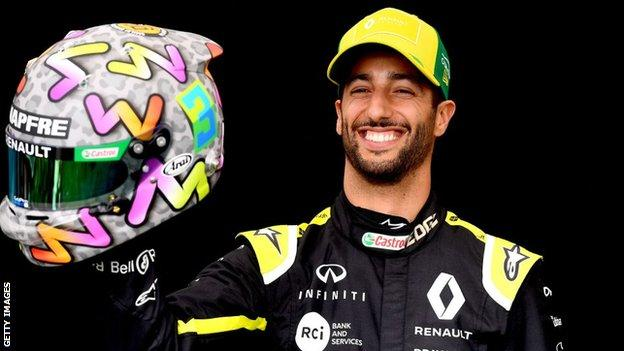 Ricciardo's move comes as several drivers make high-profile team switches