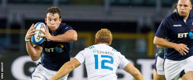 John Hardie will win his third cap for Scotland on Wednesday