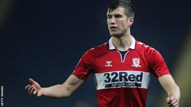 Middlesbrough centre-back Paddy McNair