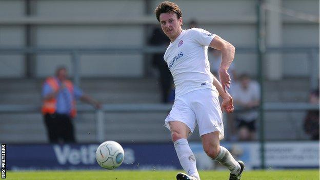 New signing Jake Lawlor made his Wrexham debut against FC Halifax Town