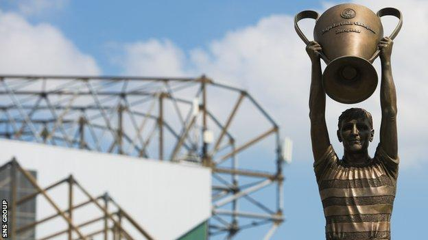 A statue of McNeill with the European Cup was erected outside Celtic Park in 2015