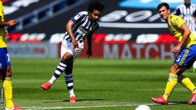 Matheus Pereira in action against Birmingham