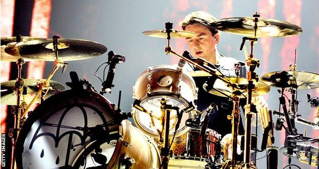 Bring Me The Horizon drummer Matt Nicholls