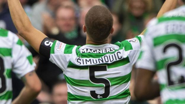 Celtic 1-0 Kilmarnock: Celtic's No.5 scores after 67 minutes in Billy McNeill tributes thumbnail
