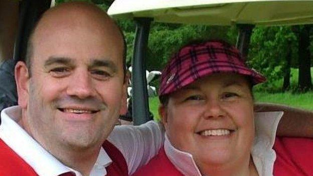 Graeme married wife Sue, 50, in 2004 - six years after his diagnosis with MS