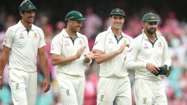 Australia v New Zealand: Nathan Lyon takes five as hosts dominate again thumbnail