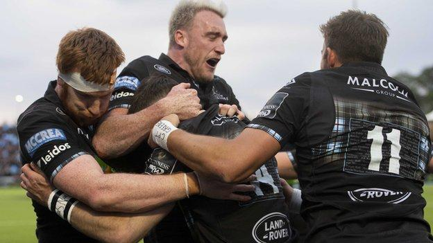 Pro14 semi-final: Glasgow Warriors 50-20 Ulster thumbnail
