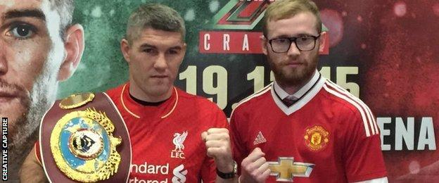 Liam Smith and Jimmy Kelly