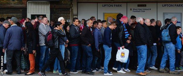 Upton Park tube