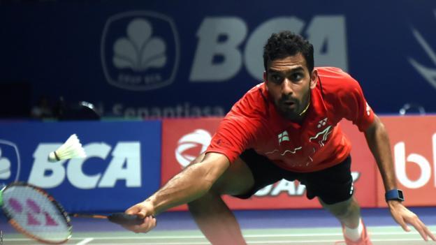 British badminton player Rajiv Ouseph