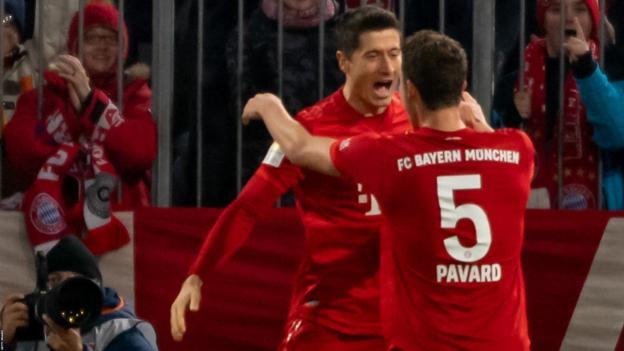 Bayern Munich 4-0 Borussia Dortmund: Lewandowski maintains incredible scoring run as Bayern thrash rivals thumbnail
