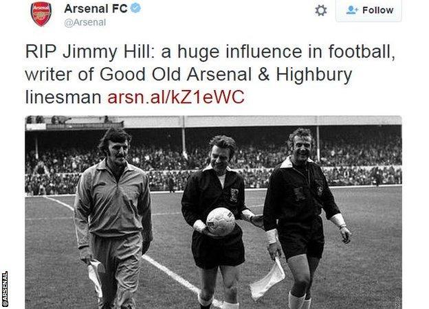 Arsenal on Twitter