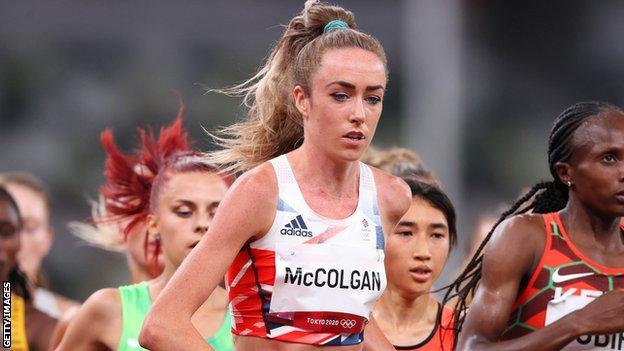 Eilish McColgan reached the 10,000m final at the Olympics, finishing ninth
