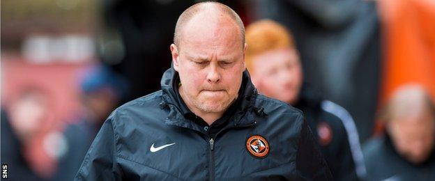 Dundee United head coach Mixu Paatelainen