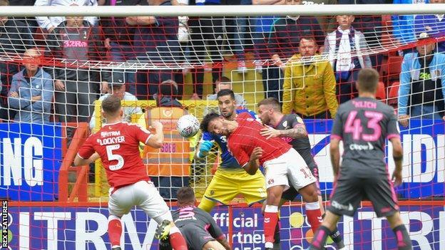 Macauley Bonne scores for Charlton
