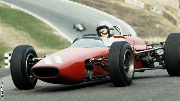 McLaren founder Bruce McLaren
