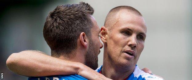 Nicky Clark and Kenny Miller