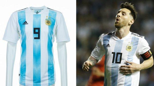 Argentina and Lionel Messi