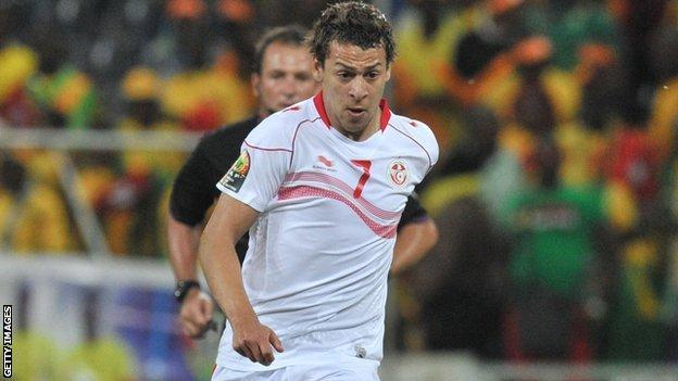Tunisia's Youssef Msakni injured and out for 10 days