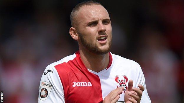 Adam Dawson Kidderminster Harriers