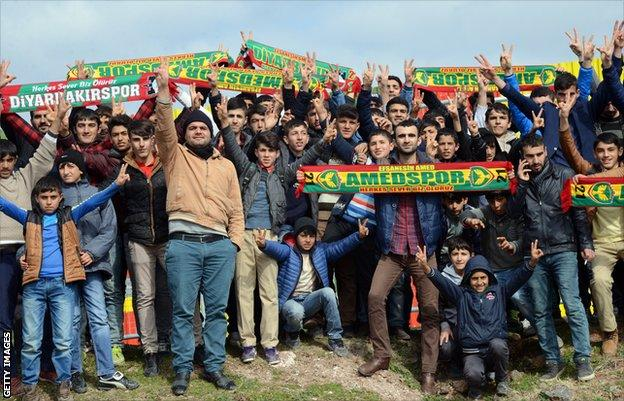 Amedspor supporters