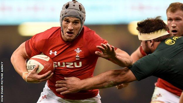 Jonathan Davies has scored 14 tries in 68 Tests for Wales since making his debut in 2009