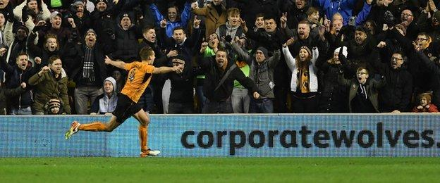 Wales international Dave Edwards has netted in four of Wolves' last five home games