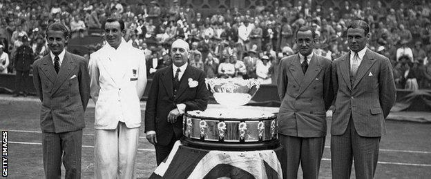 Great Britain's last Davis Cup winning team