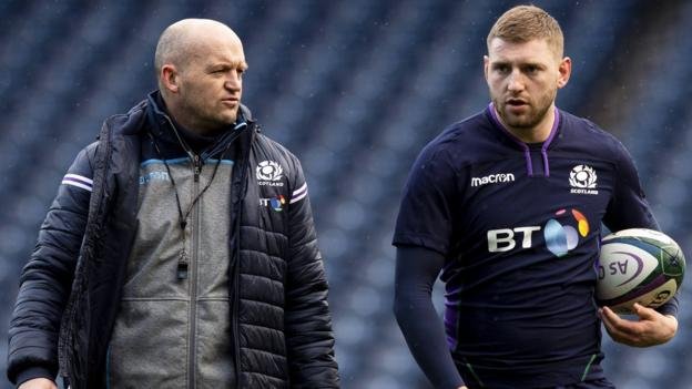 Six Nations 2020: Gregor Townsend not backing down over exiled Finn Russell
