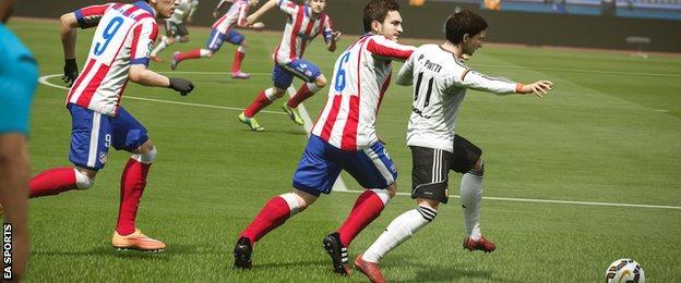 FIFA 2016 screenshot