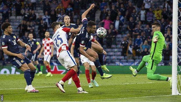 John McGinn played in all three of Scotland's Euro 2020 matches