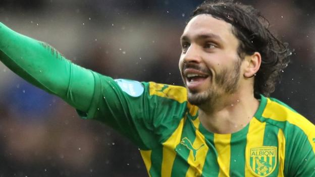 Millwall 0-2 West Bromwich Albion: Baggies extend lead at top to four points