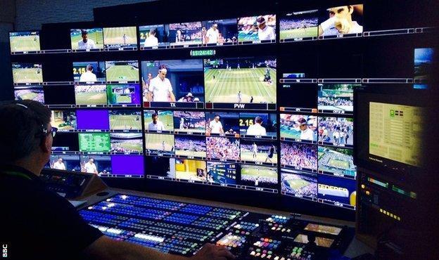 BBC Television at Wimbledon