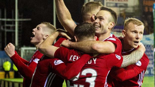 Kilmarnock 3-4 Aberdeen AET: Visitors earn Scottish Cup quarter-final place thumbnail