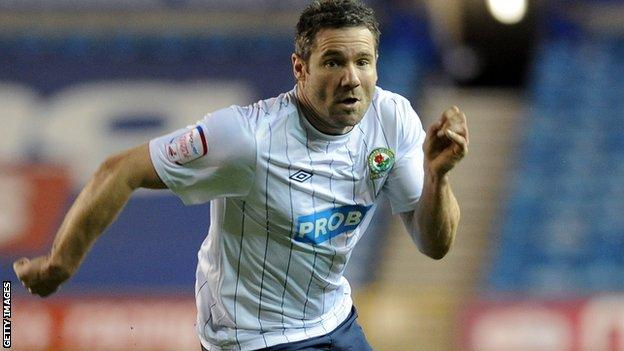Former Blackburn midfielder and new Oldham interim manager David Dunn