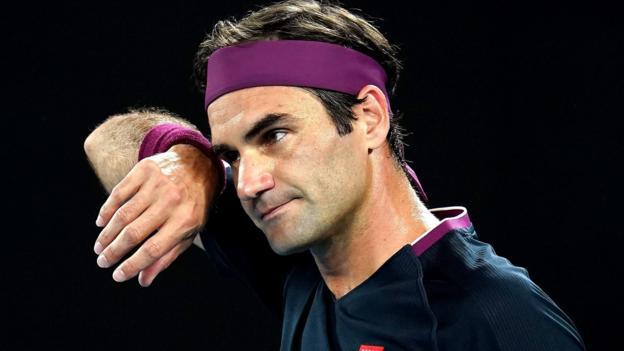 Australian Open: Roger Federer eases through, angry Denis Shapovalov out - BBC Sport