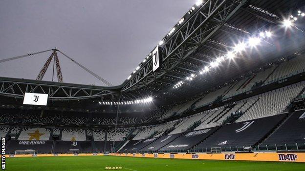 Allianz Stadium in Turin