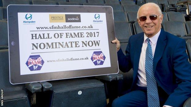 Willie Henderson was speaking at the launch of this year's nominations for the Scottish Football Hall of Fame