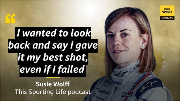 Susie Wolff graphic