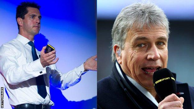 Mark Colbourne MBE and John Inverdale