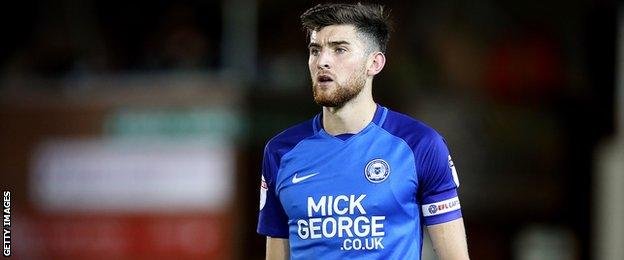 Peterborough's Jack Baldwin is a target for Aberdeen