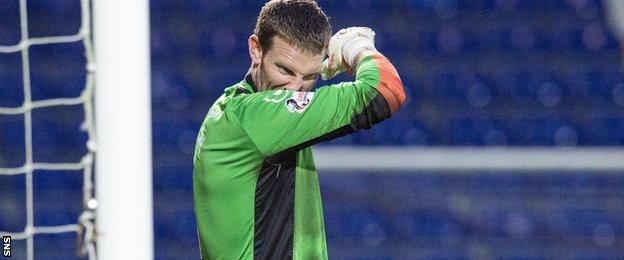 Ross County keeper Ryan Esson