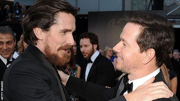 Mark Wahlberg (right) played Micky Ward in 2010 Hollywood hit 'The Fighter' where Christian Bale won an Oscar for his portrayal of Ward's half-brother